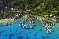 Het Eiland van Bora van Bora stock foto