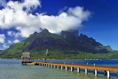 Het Eiland van Bora van Bora royalty-vrije stock foto's