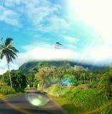 Het Eiland van Bora van Bora Stock Fotografie