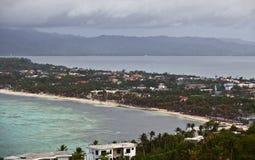 Het eiland van Boracay Stock Afbeeldingen