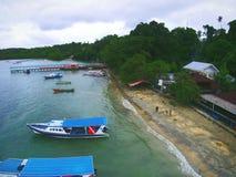 Het eiland van Bunaken Royalty-vrije Stock Foto