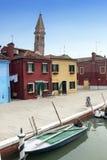 Het eiland van Burano - Venetië royalty-vrije stock fotografie