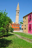 Het Eiland van Burano, Venetië, Italië Royalty-vrije Stock Afbeelding