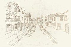 Het eiland van Burano, Venetië, Italië stock foto's