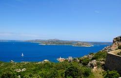 Het Eiland van Caprera royalty-vrije stock foto's