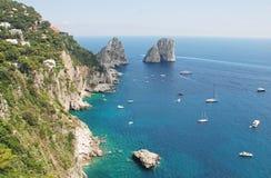 Het eiland van Capri royalty-vrije stock fotografie