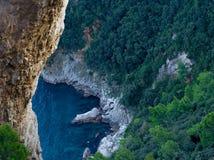 Het eiland van Capri Stock Afbeeldingen
