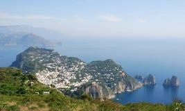 Het eiland van Capri royalty-vrije stock foto's