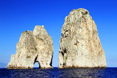 Het Eiland van Capri, Italië Royalty-vrije Stock Foto
