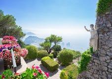 Het Eiland van Capri, Italië Stock Afbeeldingen