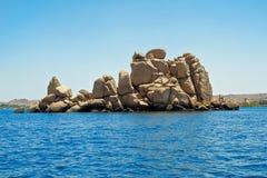 Het eiland van cataracten Stock Afbeelding
