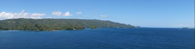 Het eiland van Cayolevantado royalty-vrije stock afbeelding