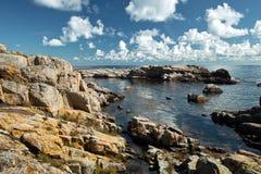 Het eiland van Christianso, Denemarken Stock Foto