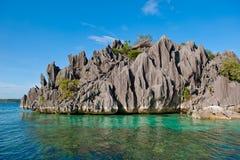 Het eiland van Coron, Filippijnen stock foto's