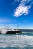 Het eiland van de bijeenkomst - Haven van heilige-Gilles Royalty-vrije Stock Foto