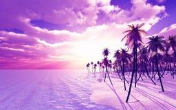 Het eiland van de droom Royalty-vrije Stock Afbeeldingen