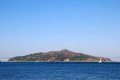 Het Eiland van de engel in de Baai van San Francisco stock fotografie