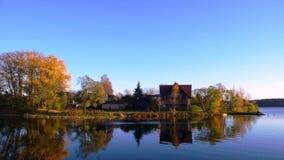 Het eiland van de herfst Stock Fotografie