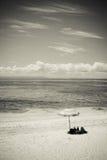 Het Eiland van de lange strandgolf Royalty-vrije Stock Fotografie