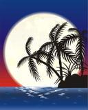 Het eiland van de maan Stock Afbeeldingen