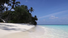 Het eiland van de Maldiven stock videobeelden