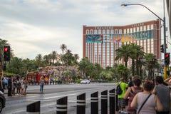 Het Eiland van de schat in Las Vegas royalty-vrije stock afbeelding