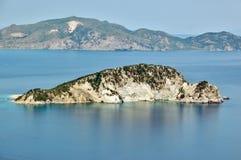 Het eiland van de schildpad Stock Afbeeldingen