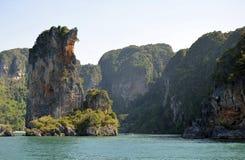 Het eiland van de wildernis Royalty-vrije Stock Afbeeldingen