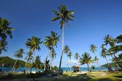 Het eiland van de Wuata overlapping Royalty-vrije Stock Foto's