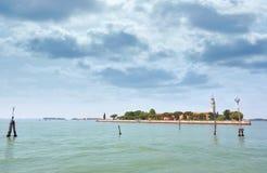 Het eiland van degliArmeni van San Lazzaro in Venetië Stock Foto's