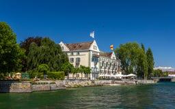 Het Eiland van Dominicanen in Konstanz, Duitsland royalty-vrije stock afbeelding