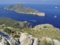 Het Eiland van Dragonera, Mallorca, Spanje royalty-vrije stock afbeelding