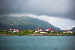 Het Eiland van Eden, Seychellen Stock Foto's