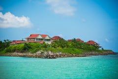 Het Eiland van Eden, Seychellen royalty-vrije stock foto's