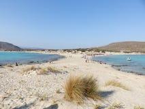 Het eiland van Elafonisos van het Simosstrand stock foto's