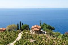 Het eiland van Elba, Capo lo Feno Royalty-vrije Stock Fotografie