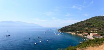 Het Eiland van Elba, Italië. Stock Foto