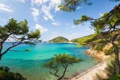 Het Eiland van Elba, Toscanië, Itlay Royalty-vrije Stock Foto