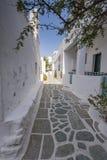 Het eiland van Folegandros, Griekenland stock foto's