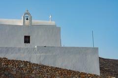 Het eiland van Folegandros, Griekenland stock afbeeldingen