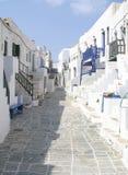 Het eiland van Folegandros, Griekenland Royalty-vrije Stock Foto