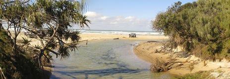 Het Eiland van Fraser, Queensland, Australië stock foto