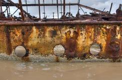 Het Eiland van Fraser van de schipbreuk royalty-vrije stock afbeelding