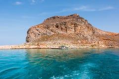 Het eiland van Gramvousa Stock Foto's