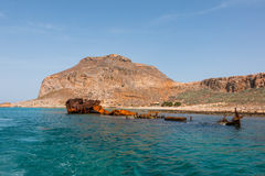 Het eiland van Gramvousa Royalty-vrije Stock Afbeeldingen