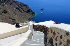 Het Eiland van Griekenland Europa Santorini Stock Afbeelding