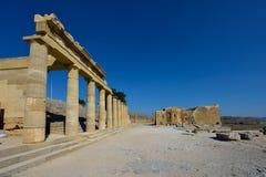 Het eiland van Griekenland, Rhodos Royalty-vrije Stock Foto's