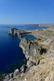 Het eiland van Griekenland, Rhodos Royalty-vrije Stock Foto