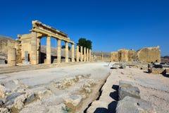 Het eiland van Griekenland, Rhodos Royalty-vrije Stock Afbeelding