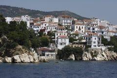 Het Eiland van Griekenland Skyatos Stock Fotografie
